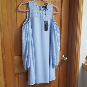 Baby blue cocktail dress nwt
